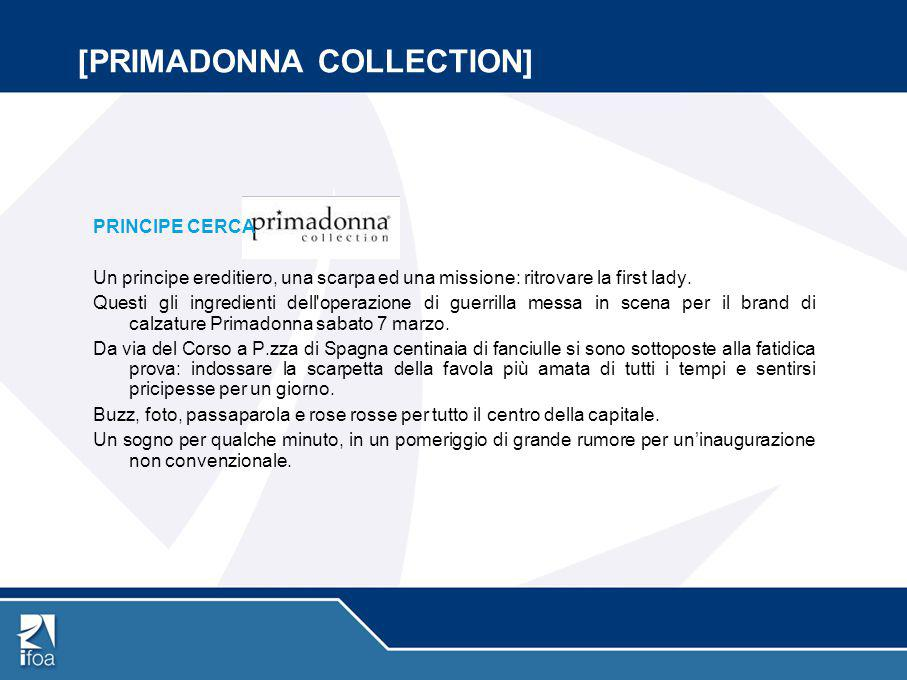 [PRIMADONNA COLLECTION]